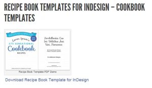 recipe page templates self pub