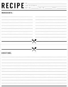 recipe template for word recipe card templates free psd word pdf eps format free recipe card templates free recipe card templates