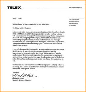recommendation letter for employee recommendation letter for employee lortelexcommunications