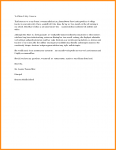 recommendation letter for high school student recommendation letter for student from teacher sample recommendation letter for student from teacher