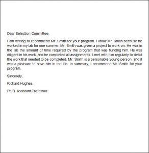 recommendation letter for job write recommendation letter