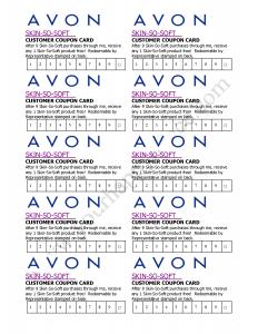 recruiting plan templates avon skin so soft club card