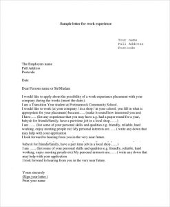 reference letter for employees sample experience letter