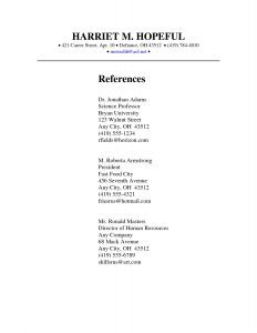 reference page template reference page format resume free reference list template for inside format for resume
