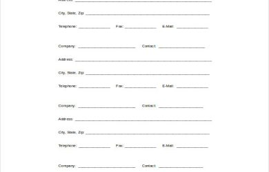 reference sheet template proffesional reference sheet word template free download