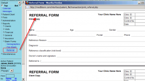 referral form template referral