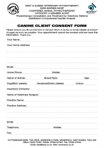 referral forms templates canineclientconsent