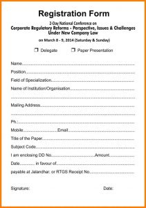registration form template registration forms template word business reference form free printable registration form free form pertaining to free resume templates microsoft office