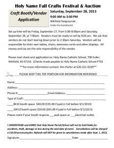 registration form template word craft fair vendor registration