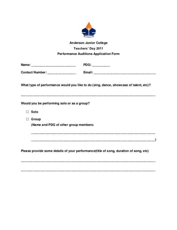 release forms template