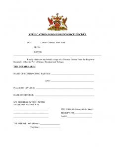 rent application form application form for divorce decree new york l