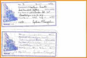 rent contract sample how to fill a receipt how to fill out a receipt book receipts rent