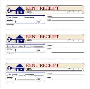 rent paid receipt downloadable rent ledger template