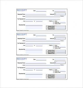 rent paid receipt payment invoice receipt pdf download