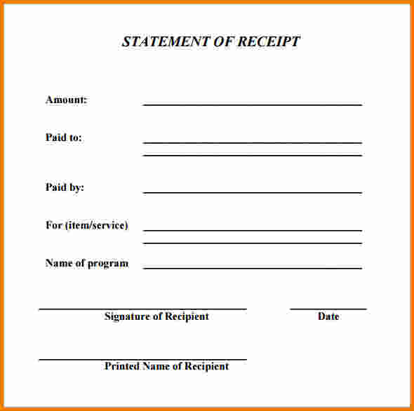 rent receipt example