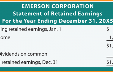 rent receipts forms retained earnings statement retained earnings statement example emersonretained