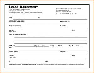 rental agreement pdf lease agreement pdf