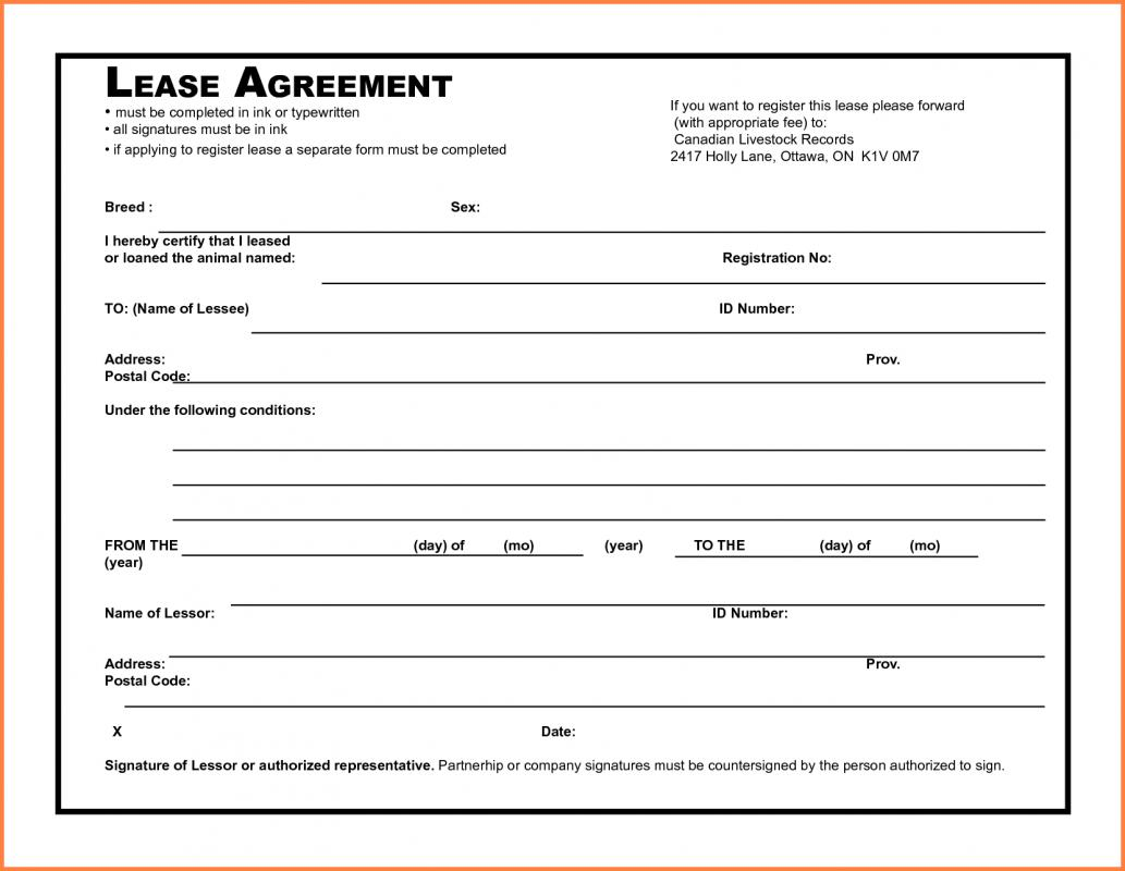 rental agreement pdf