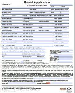 rental application form doc massachusetts rental application x