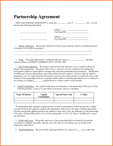 rental contract template business partnership agreement template business partnership agreement sample