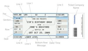 rental contract template ticket templates excellent concert ticket template example with detail information of text also neutral color palette and barcode