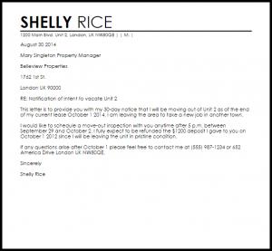 rental termination letter apartment lease termination letter