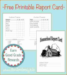 renters receipt form homeschool report card template report card graphic