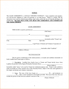 renters receipt form room rental lease agreement