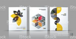 report cover template brochure template layout collection cover design annual report vector id