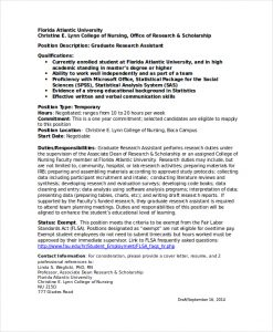 research assistant resume graduate research assistant resume