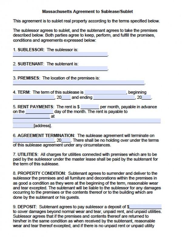 residental rental application