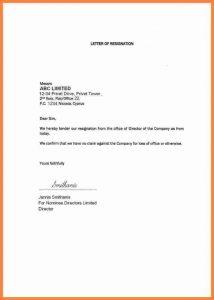 resign letter template example resignation letter month notice month notice resignation letter sample