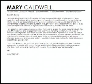 resignation email templates social media coordinator