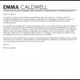 resignation letter email fashion model