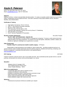 resume cover letter template free flight attendant resume samples cabin crew objective sample templates by kayla d