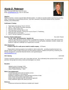 resume for flight attendant flight attendant resume certificates and training for resume objective for flight attendant with education and skills for business aviation employment