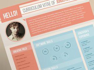 resume formats free curriculum vitae for a graphic designer