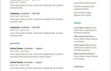 resume template doc resume cv google doc microsoft docx