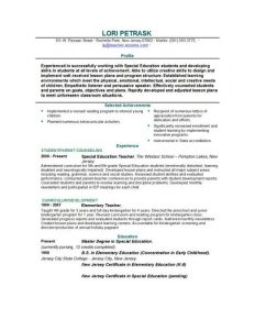 resume template for teaching free teacher resume template