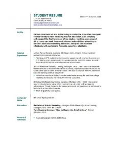 resume templates for college students college student resume templates