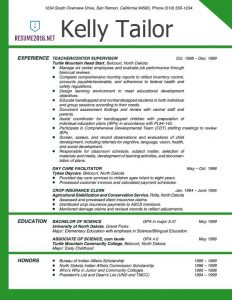 resume templates for teachers teacher resume example