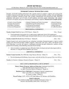 resume templates for teachers teaching resume template resume templates throughout preschool teacher resume objective