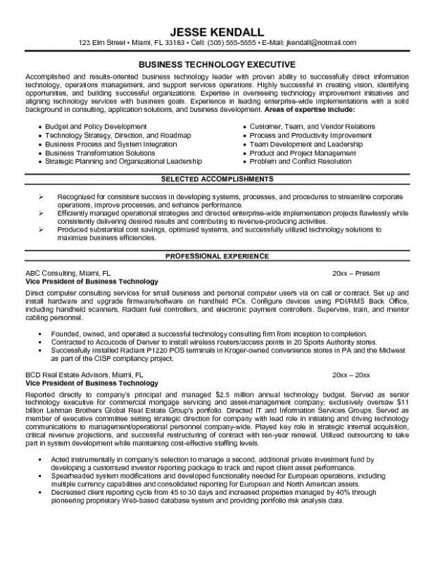 resume writing template
