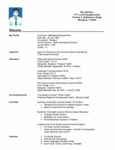 resumes for high school students with no experience example of resume for college student with no experience asjkauiw