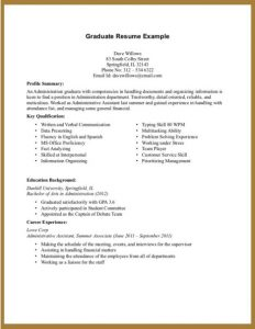resumes for highschool students entry level for resume no experience