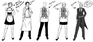 resumes for waitresses hotel uniforms by alfredfjones us ddiko