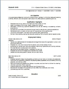 resumes for waitresses top waitress resume skills sample resume sample restaurant waiter