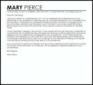 retirement letter sample underwriter