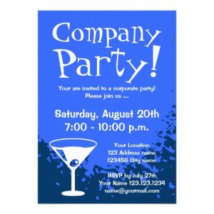 retirement party invitation templates corporate party invitations company invites