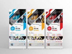roll up banner design c edcbbcf